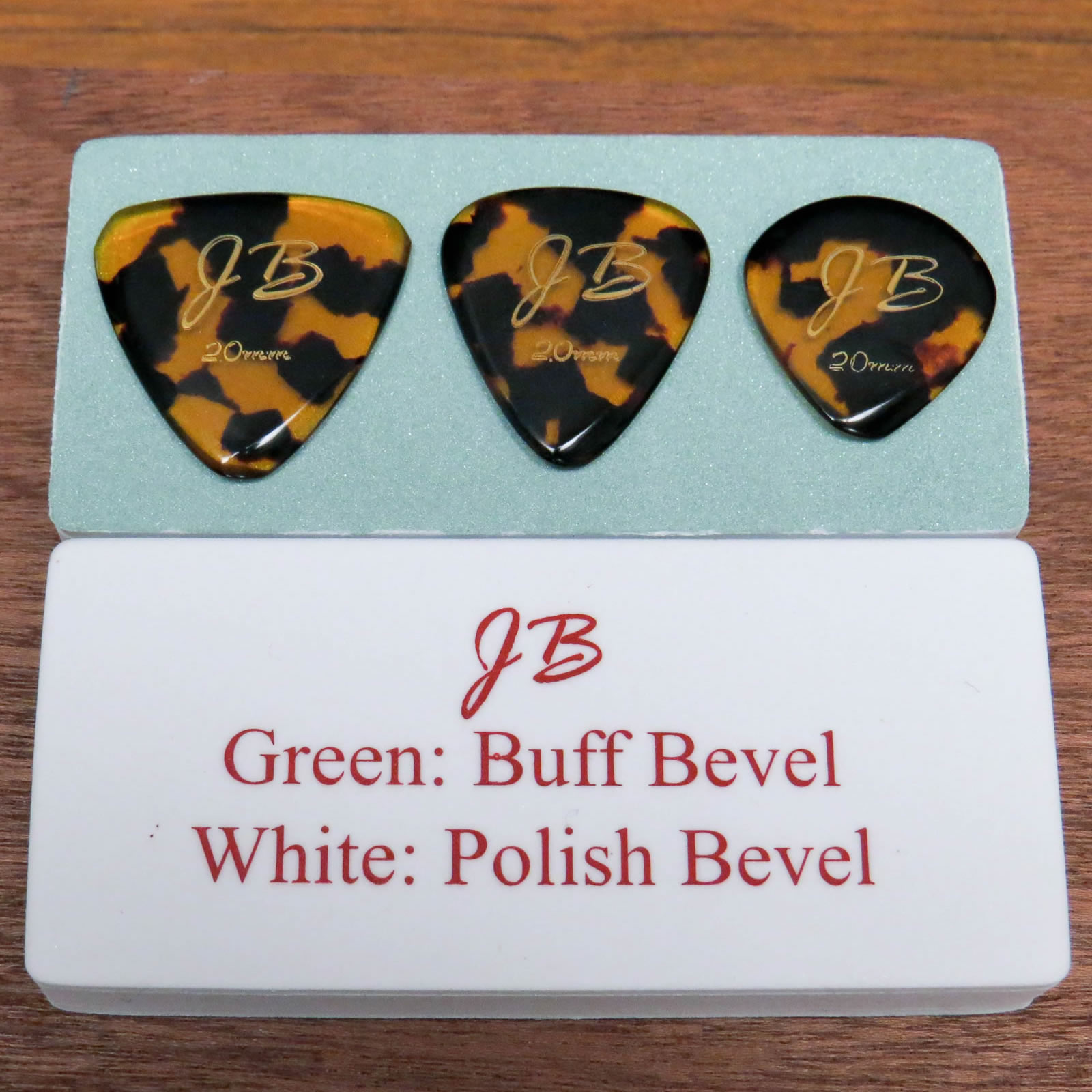 JB Ultra Shine Pick Bevel Buffer